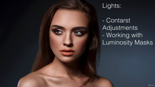 Professional Retouching Course in Photoshop