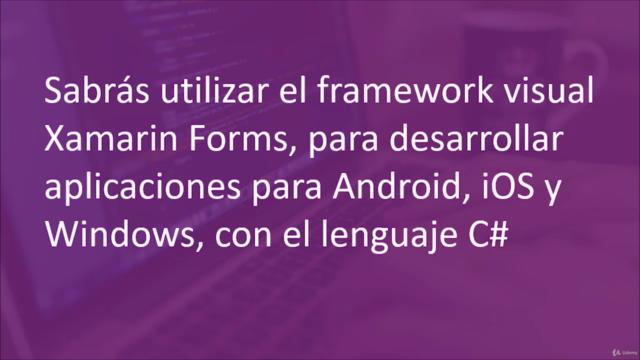Aprende Xamarin Forms para desarrollar Apps multiplataforma