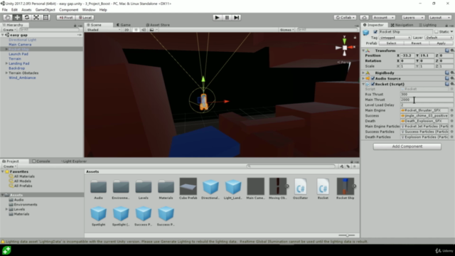 Complete C# Unity Game Developer 3D