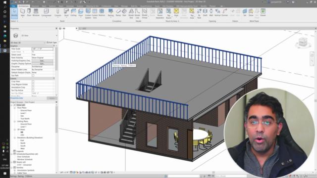 Revit Architecture 2021 Course - Practical Approach