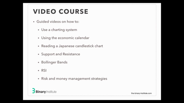 Introductory Course in Binary Options Trading + eBook v2021
