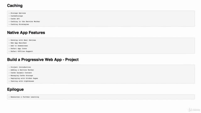 Progressive Web Apps: The Concise PWA Masterclass