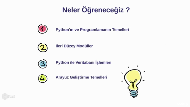 (40+ Saat) Python | Sıfırdan İleri Seviye Programlama (2020)