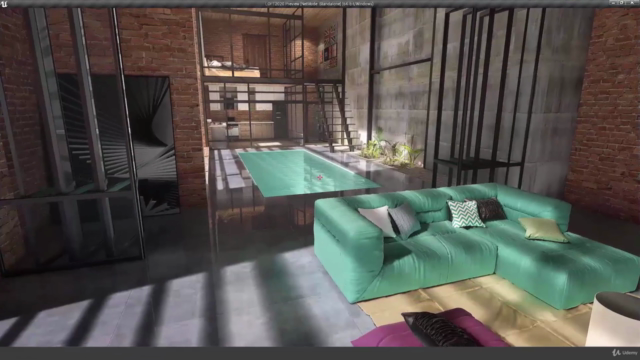 Unreal Engine 4 VR Interior Tour with 3DsMax VRay Photoshop