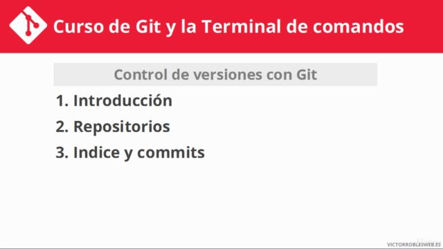 Curso de Git y la Terminal de comandos - Para programadores