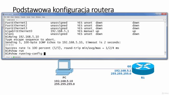 CCNA po polsku - kurs sieci komputerowych - egzamin 200-301