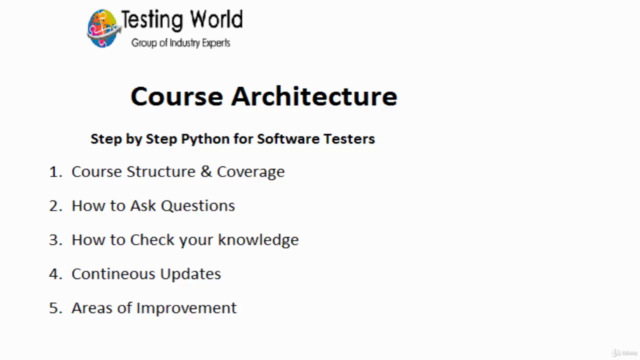 New to Python Automation ? Step by Step Python 4 Tester-2021