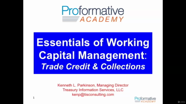 Introduction to The Management of Working Capital