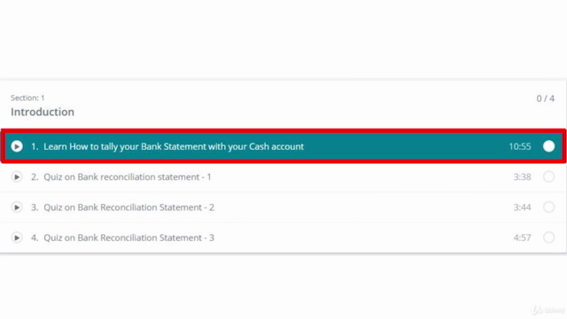 How to match your bank statement with Cash book?