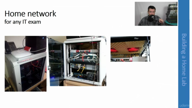 How to build a perfect lab at home and gain some experience