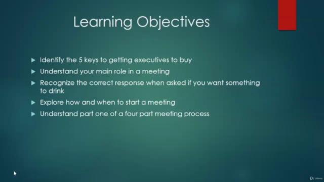 Sales Meetings - Creating Perception as Consultant, Partner