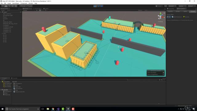 Der AI-Kurs für Unity: Klevere Gegner für Spiele erstellen