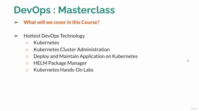 DevOps MasterClass : GIT Docker Jenkins Kubernetes Terraform
