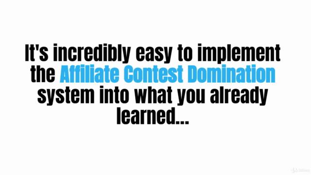Affiliate Marketing Contest Mastery - Top Affiliate Secrets