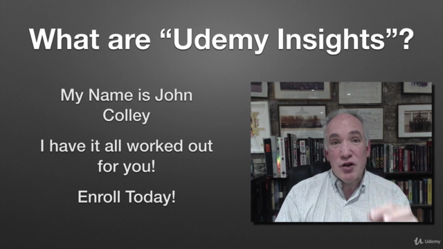 Udemy Online Course Creation Insights Made Easy (Unofficial)