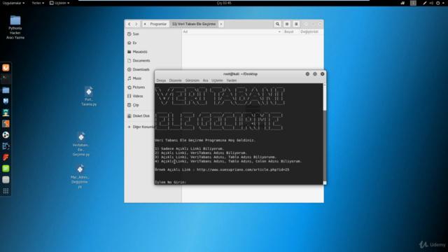 Python'la Hacker Araçları Yazma