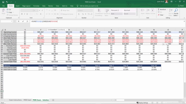 The Real Estate Financial Modeling Bootcamp