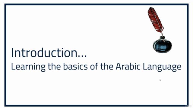 Basics of the Arabic Language