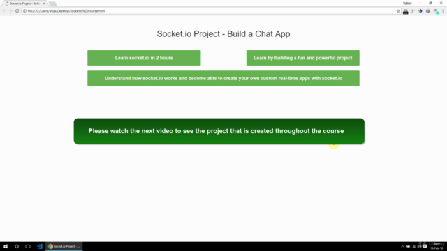 Socket.IO Project - Build a Chat App