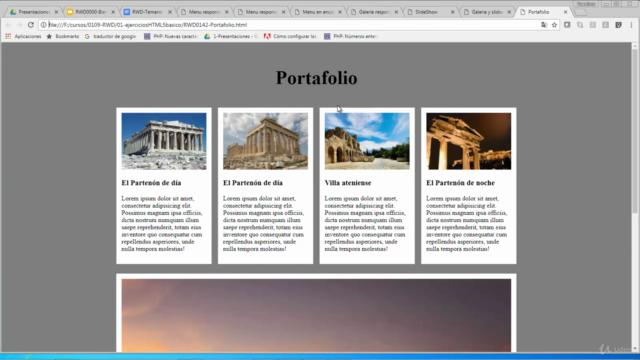 Desarrollo de páginas responsivas con CSS3 y HTML5