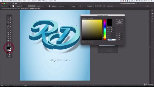 Adobe ILLUSTRATOR CC 2020 | 15 Ateliers Pratiques / créatifs