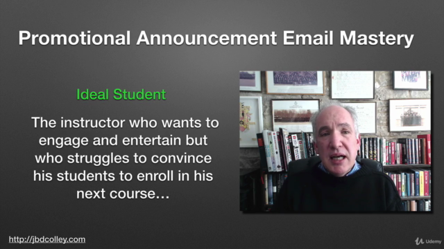 Online Course Creation - Master Promotional Emails - LITE