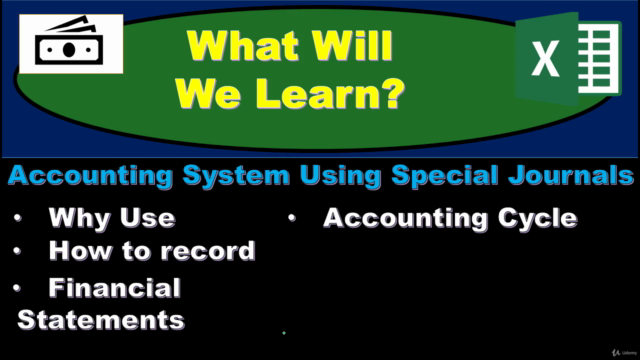 Financial Accounting – Subsidiary Ledgers & Special Journals