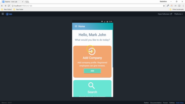 Ionic with NodeJS: Build a Full Mobile Business Rating App