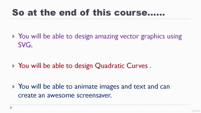 Master SVG animation using HTML & CSS - Build 8 Projects.