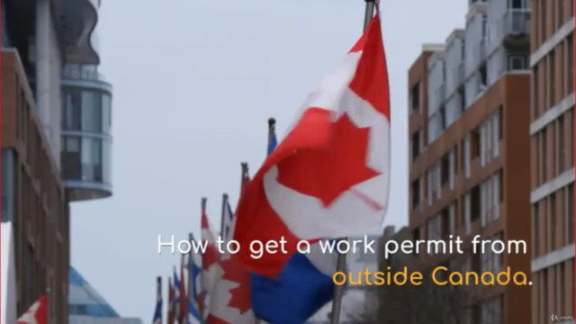 How to get a job offer and work permit in Canada.