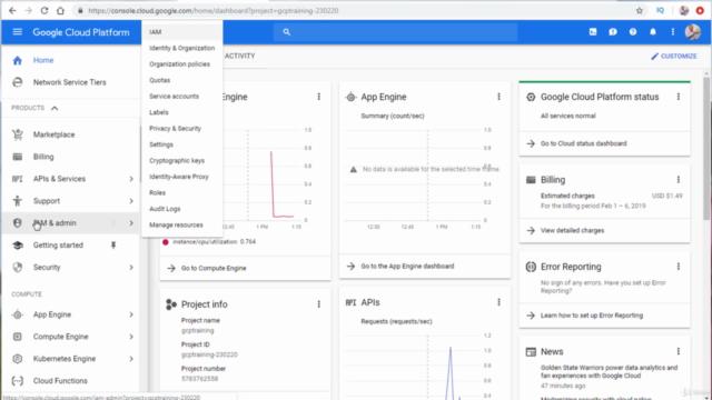 Google Cloud Platform Associate Cloud Engineer Bootcamp