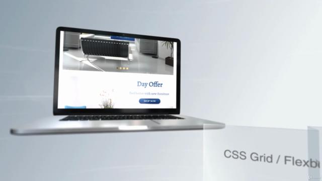 CSS Bootcamp - Master CSS (CSS Grid / CSS Flexbox)