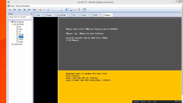 vSphere 6.0 VCP Lab with VMware Workstation Hand-On