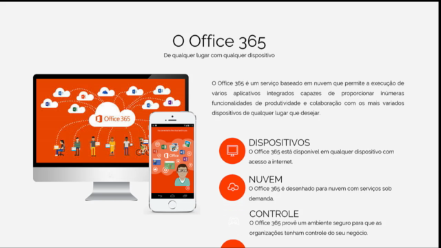 No dia a dia da empresa com o Office 365