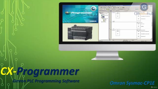 OMRON PLC Programming Using CX-Programmer (PLC-SCADA-3)