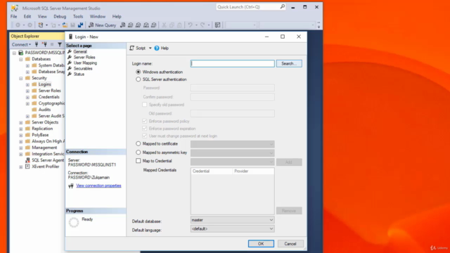 SQL Server 2016 Administration SQL Security with Hands-On