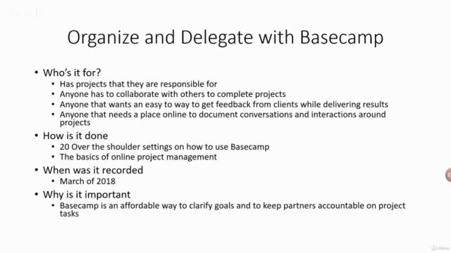 Trello, Zapier, Evernote and Basecamp Masterclass
