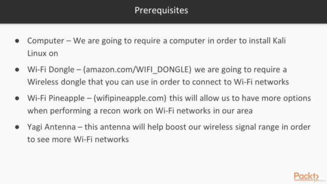 Kali Linux Wireless Penetration Testing - Novice to Pro!