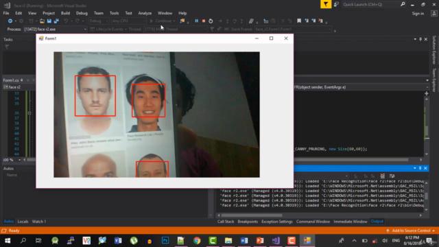 Master Facial Recognition C# - EmguCV Face Recognition