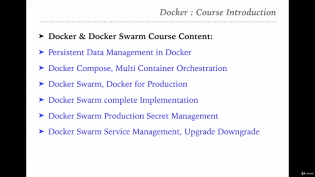 Docker Container MasterClass : Docker Ecosystem From Scratch