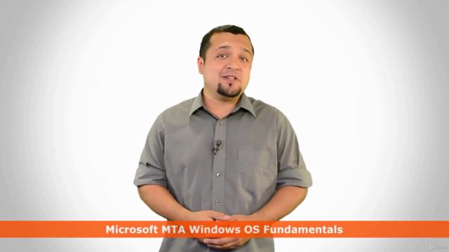 Microsoft Windows 10 - MTA Windows OS Fundamentals 98-349