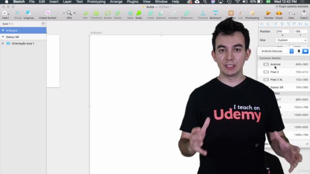 Sketch: UI Design do básico aos protótipos responsivos