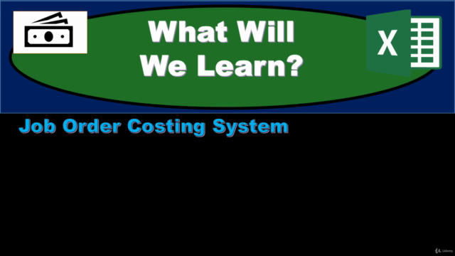 Job Order Costing System – Managerial Accounting