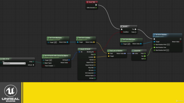 Creating Gameplay Mechanics With Blueprints in Unreal Engine