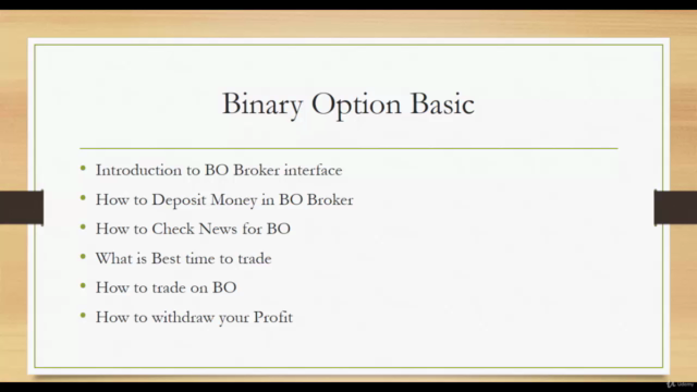 Binary Options Strategies Course : No More Loss