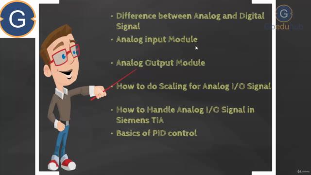 TIA Portal for S7-1200 PLC Analog Programming (PLC-SCADA-11)