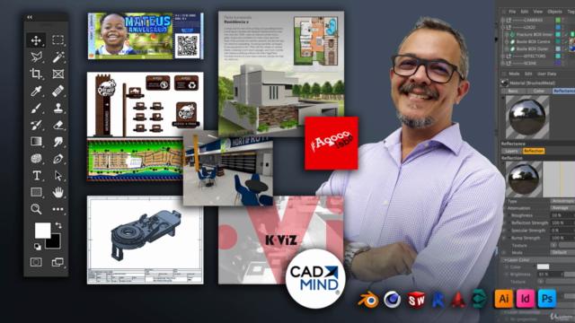 Embalagens personalizadas (kitfesta) com Photoshop