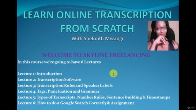Learn Online Transcription from Scratch