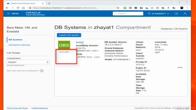 Oracle 18c and Dataguard setup on premises and oracle Cloud