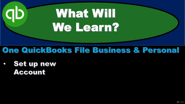 QuickBooks Pro-Business & Personal-One QuickBooks File